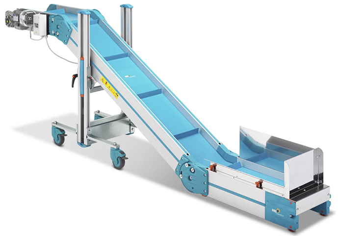 Inclined & Swan Neck Conveyors
