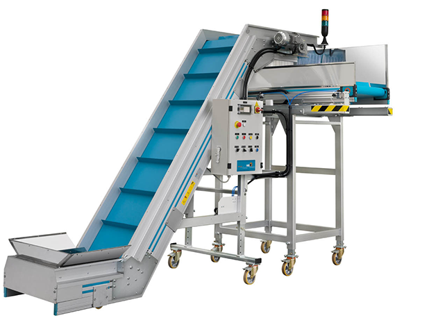 MB Conveyors - Inclined & Swan neck conveyors