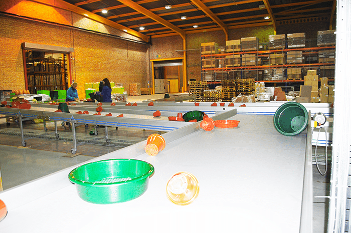 Plastic Part Conveyor System