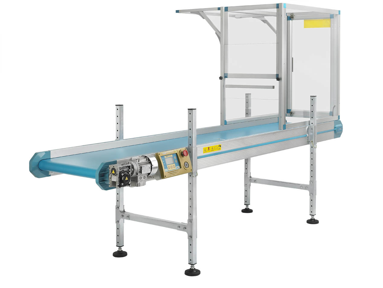 Robot take out conveyors