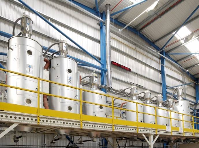 Central Material Drying Systems