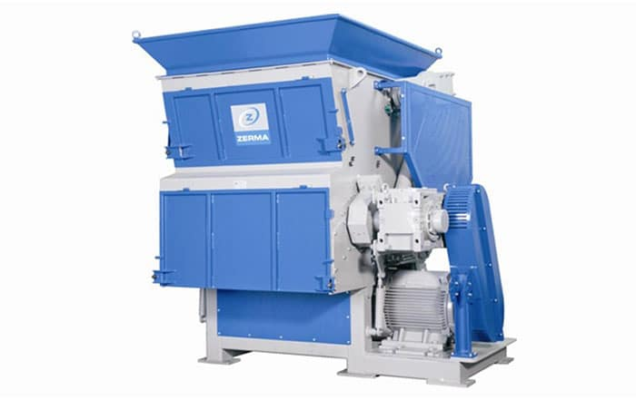 Zerma Plastic Scrap Material Shredders - Single Shaft