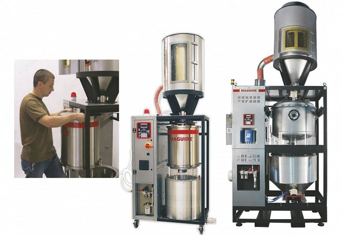 Maguire Vacuum Batch Dryers