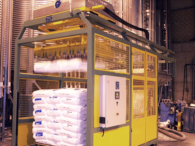 LaborSave Sack Emptying System
