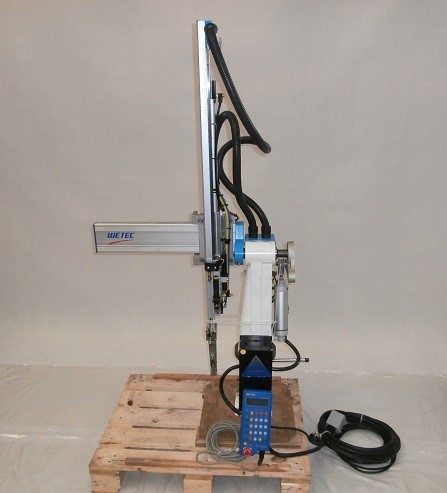 Swing robot 700mm stroke 100mm X-axis with gripper