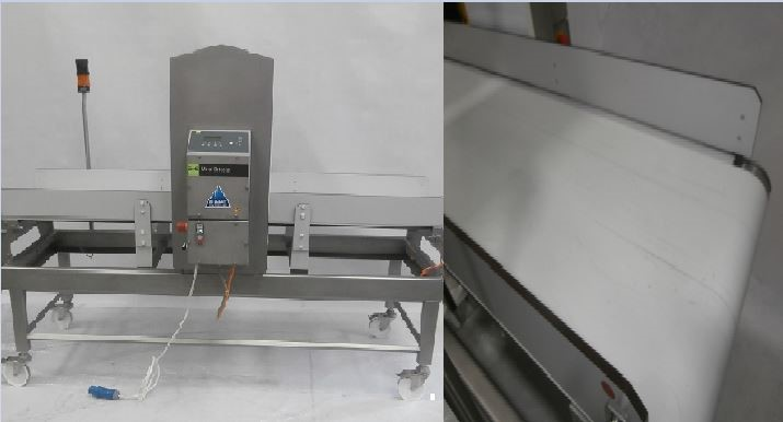 Sesotec tunnel type metal detection system