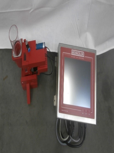 Optometric doser with 200ml hopper & touchscreen