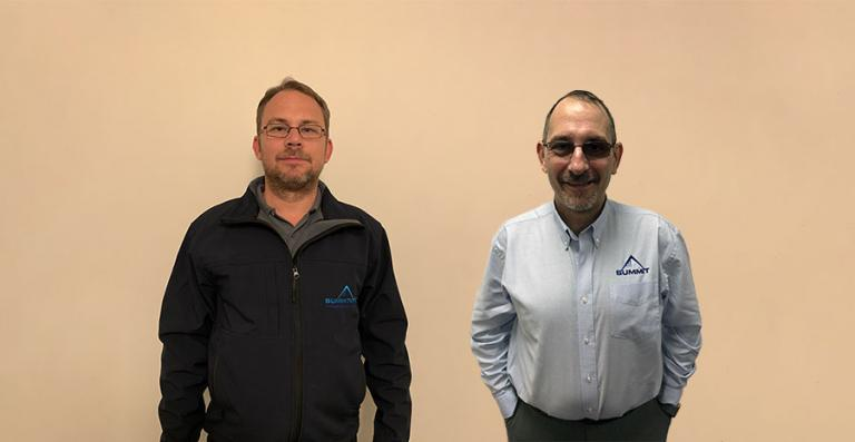 SUMMIT SYSTEMS HIRE EXPERIENCED DUO